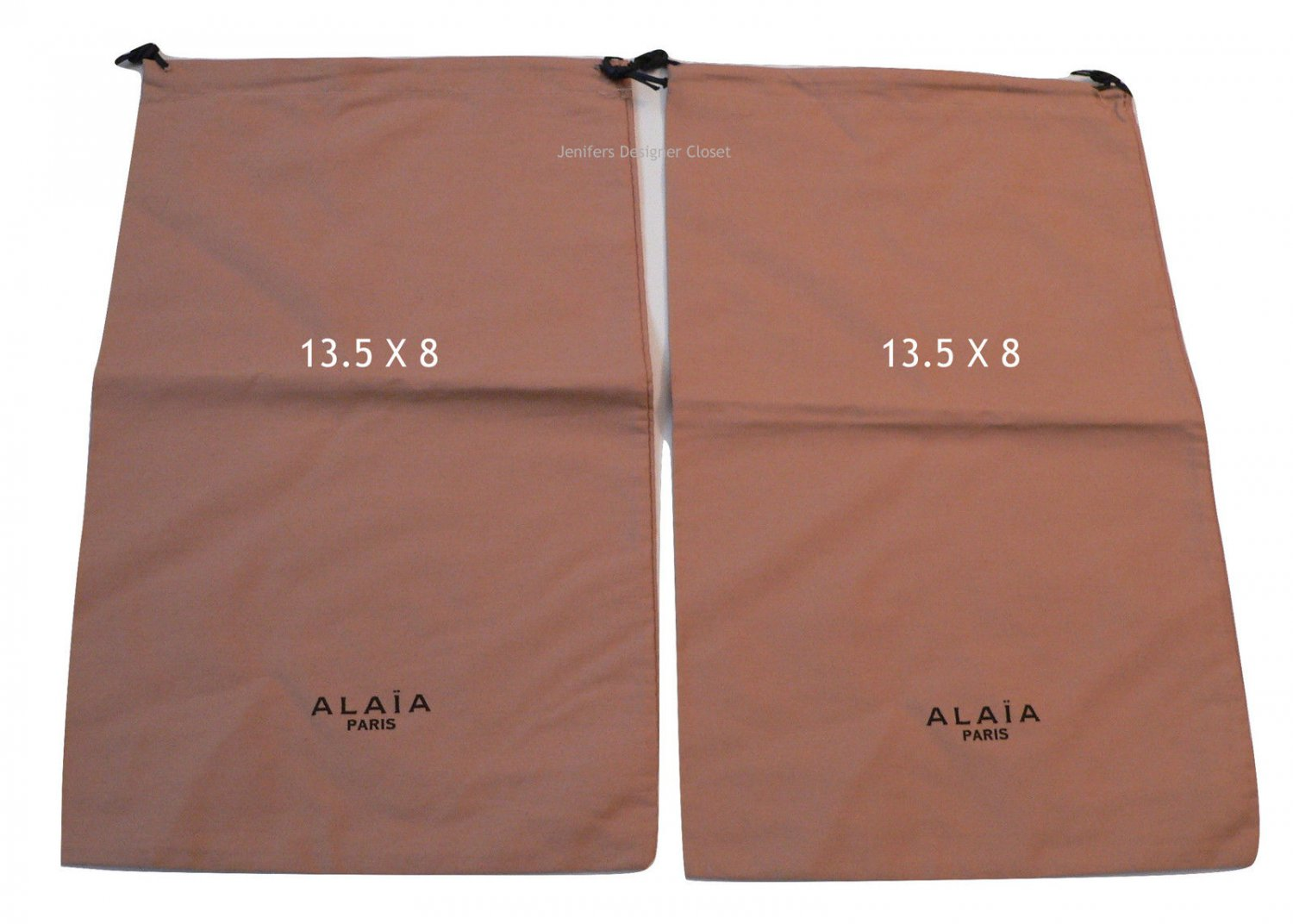 New Azzedine ALAIA dust bags 13.5 X 8 sleepers shoes storage travel purse duster