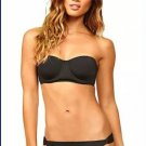 New RADIO FIJI S bustier lace-up back corset style bikini swimsuit black sexy