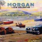 Morgan, Classic British Sports Car, Lake District Country, Small Metal/Tin Sign