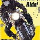 Vintage Garage, Rockers Brighton Run Motorbike Motorcylce, Small Metal/Tin Sign