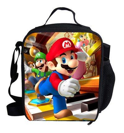 Super mario 01 Lunch Bag Boys Girls Students School