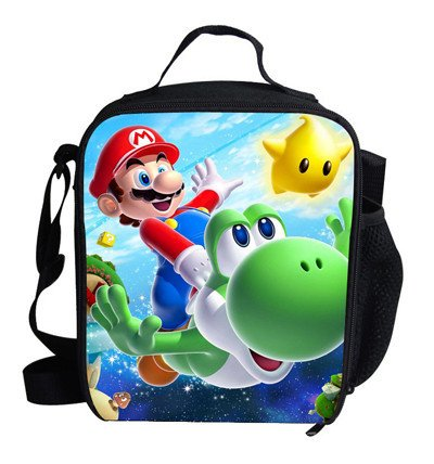 Super Mario 03 Lunch Bag Boys Girls Students School