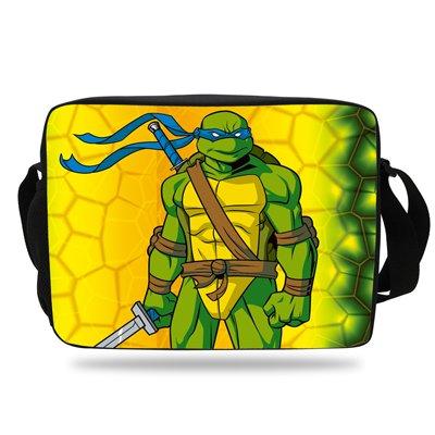 Ninja Turtles 04 Messenger Bag For School Children Boys Girls
