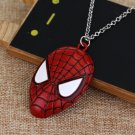 Spiderman #01 Head Red Pendant Jewelry Necklaces