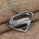 superman #01 Silver Pendant Jewelry long necklace