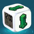 Minecraft Led Alarm Clock #06 Minecraft Cartoon Figures LED Alarm Clock