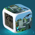Minecraft Led Alarm Clock #12 Minecraft Cartoon Figures LED Alarm Clock