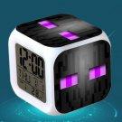 Minecraft Led Alarm Clock #26 Minecraft Cartoon Figures LED Alarm Clock