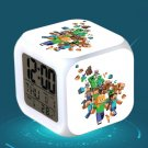 Minecraft Led Alarm Clock #28 Minecraft Cartoon Figures LED Alarm Clock