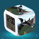 Minecraft Led Alarm Clock #31 Minecraft Cartoon Figures LED Alarm Clock