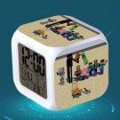 Minecraft Led Alarm Clock #32 Minecraft Cartoon Figures LED Alarm Clock