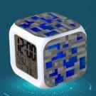 Minecraft Led Alarm Clock #34 Minecraft Cartoon Figures LED Alarm Clock
