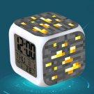 Minecraft Led Alarm Clock #38 Minecraft Cartoon Figures LED Alarm Clock
