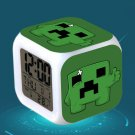 Minecraft Led Alarm Clock #40 Minecraft Cartoon Figures LED Alarm Clock