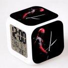 Deadpool Marvel Heroes Led Alarm Clock #01 Deadpool Movie Figures LED Alarm Clock