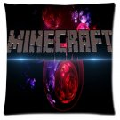 """20""""x20"""" Pillow Case Minecraft #45 Twin Side Cushion Case Bedroom Design"""