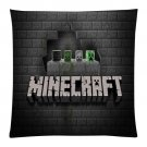 """18""""x18"""" Pillow Case Minecraft #29 One Side Cushion Case Bedroom Design"""
