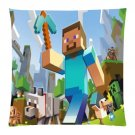 """18""""x18"""" Pillow Case Minecraft #49 One Side Cushion Case Bedroom Design"""