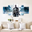 Batman Movie 5 Piece Wall Art Canvas Prints Size C (NO FRAME)