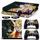 New Dragon Ball #32 Decal For Play Station 4 Console + 2+2 Controller