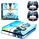 New Vegeta Dragon Ball #34 Decal For Play Station 4 Console + 2+2 Controller
