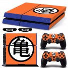 New Dragon Ball #40 Decal For Play Station 4 Console + 2+2 Controller
