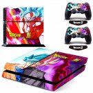 New Dragon Ball #43 Decal For Play Station 4 Console + 2+2 Controller