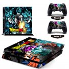 New Dragon Ball #45 Decal For Play Station 4 Console + 2+2 Controller