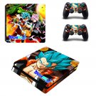 New Dragon Ball #46 Decal For Play Station 4 Console + 2+2 Controller