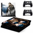 New Game of Thrones Design #11 Decal For Play Station 4 Console + 2 Controller