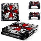 New Assassin Creed Design #22 Decal For Play Station 4 Console + 2 Controller