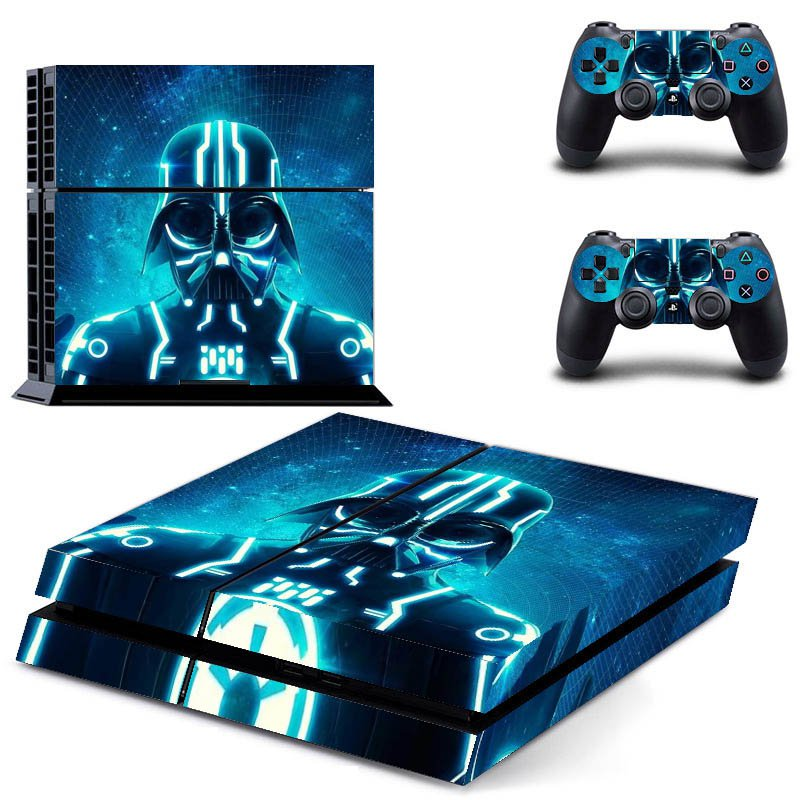 New Assassin Creed Design #23 Decal For Play Station 4 Console + 2 Controller