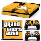 Grand Theft New Design #53 Decal For Play Station 4 Console + 2 Controller