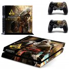 Assassin Creed New Design #02 Decal For Play Station 4 Console + 2 Controller