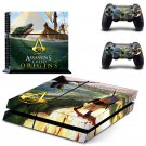 Assassin Creed New Design #03 Decal For Play Station 4 Console + 2 Controller
