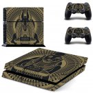 Assassin Creed New Design #04 Decal For Play Station 4 Console + 2 Controller