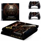 Assassin Creed New Design #05 Decal For Play Station 4 Console + 2 Controller