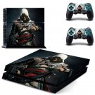 Assassin Creed New Design #09 Decal For Play Station 4 Console + 2 Controller