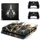 Assassin Creed New Design #11 Decal For Play Station 4 Console + 2 Controller