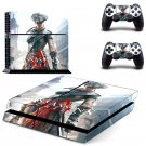 Assassin Creed New Design #15 Decal For Play Station 4 Console + 2 Controller
