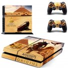 Assassin Creed New Design #06 Decal For Play Station 4 Console + 2 Controller