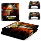Call of Duty New Design #02 Decal For Play Station 4 Console + 2 Controller