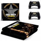Call of Duty New Design #05 Decal For Play Station 4 Console + 2 Controller