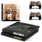 Call of Duty New Design #09 Decal For Play Station 4 Console + 2 Controller