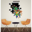 Minecraft Steve #20 Wall Sticker Wall Decals for Decorative Kids Room