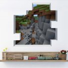Minecraft Steve #25 Wall Sticker Wall Decals for Decorative Kids Room