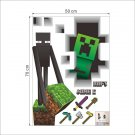 Minecraft Steve #30 Wall Sticker Wall Decals for Decorative Kids Room