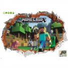 Minecraft Steve #45 Wall Sticker Wall Decals for Decorative Kids Room