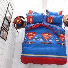 Twin Size Superman #25 Bedding Set Duvet Cover Pillow Case Bedsheet