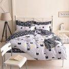 Queen Size 3PCS Batman #27 Bedding Set Quilt Cover Pillow Case